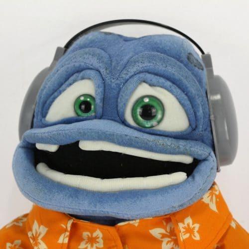 Крейзи фрог (Crazy Frog) мягкая плюшевая игрушка