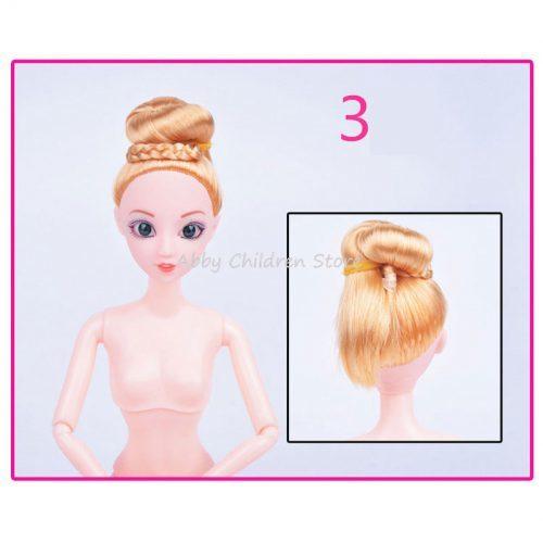 Кукла Барби 30 см без одежды, с подвижным телом, длинными темными и светлыми волосами