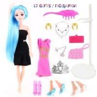 Кукла Барби 30 см с одеждой и аксессуарами, подвижным телом, длинными яркими волосами