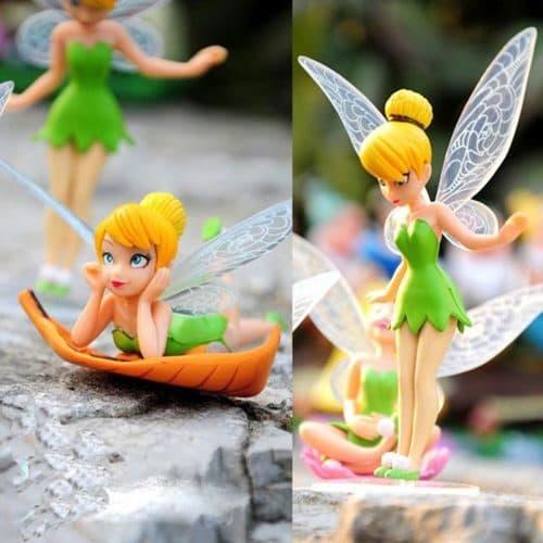 Маленькие куклы-игрушки феи Disney Fairies в наборе 6 шт.