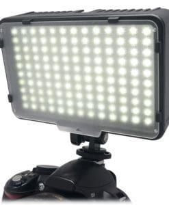 Mcoplus LED-130 накамерный свет с двумя фильтрами в комплекте