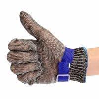 Металлическая перчатка из нержавеющей стали