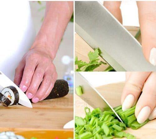 Металлическая защита для пальцев при нарезке овощей
