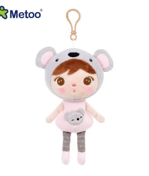 Metoo Keppel Doll тряпичная мягкая плюшевая кукла-брелок 22 см