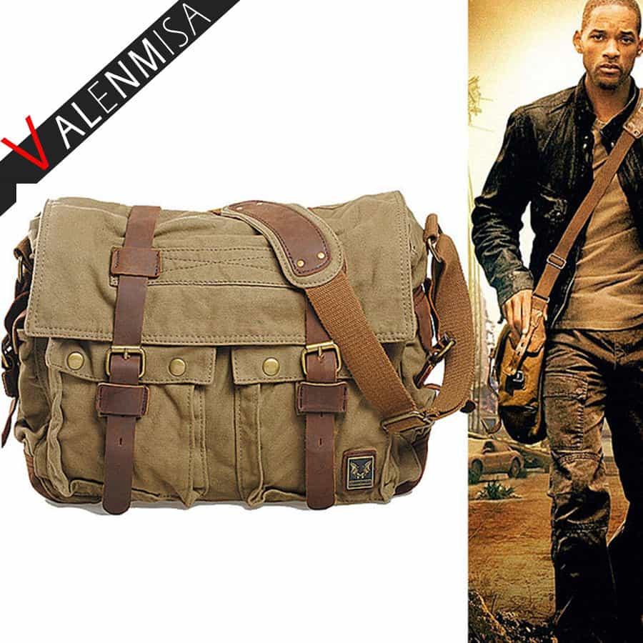 467a5e96c384 Купить Мужская текстильная сумка через плечо как в фильме Я легенда ...