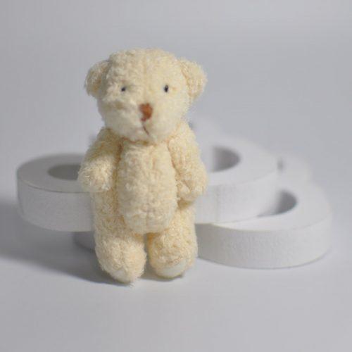 Мягкая маленькая плюшевая игрушка Медвежонок Тедди 6 см (в наборе 5 шт.)