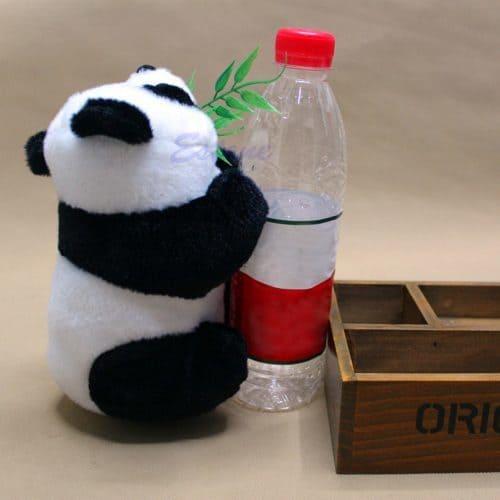 Мягкая маленькая плюшевая игрушка Панда 16 см