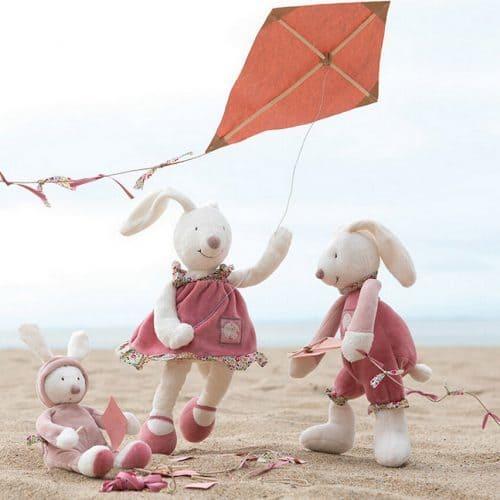 Мягкая плюшевая детская игрушка Кролик 32 см
