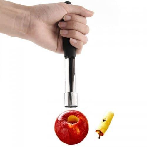 Нож-приспособление для удаления сердцевины яблока или других фруктов
