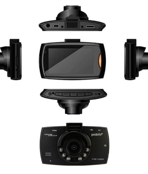 Podofo автомобильный видеорегистратор-камера ночного видения g30 Full HD 1080 P