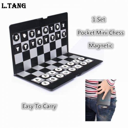 Портативные карманные магнитные мини-шахматы