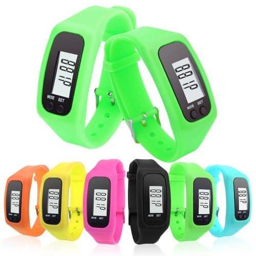 Спортивный шагомер-браслет с ЖК-дисплеем со счетчиком калорий и расстояния