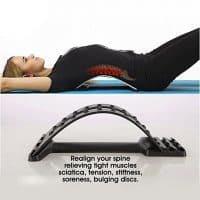 Тренажер-массажер для разминки, массажа мышц спины, позвоночника