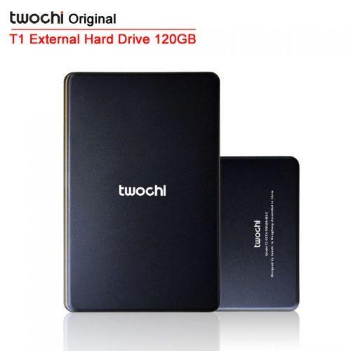 Twochi Внешний жёсткий диск USB2.0 HDD на 120 гб