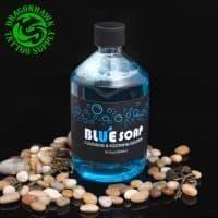 Успокаивающее чистящее мыло-раствор для татуировки Blue Soap 500 мл