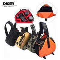 Водонепроницаемая фотосумка-слинг Caden K1/K2