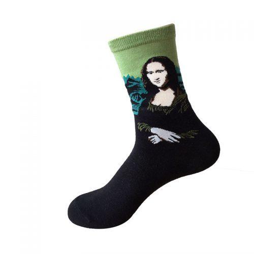 Арт носки с картинами художников