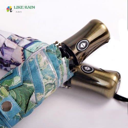 Автоматический зонт с картиной Ван Гога