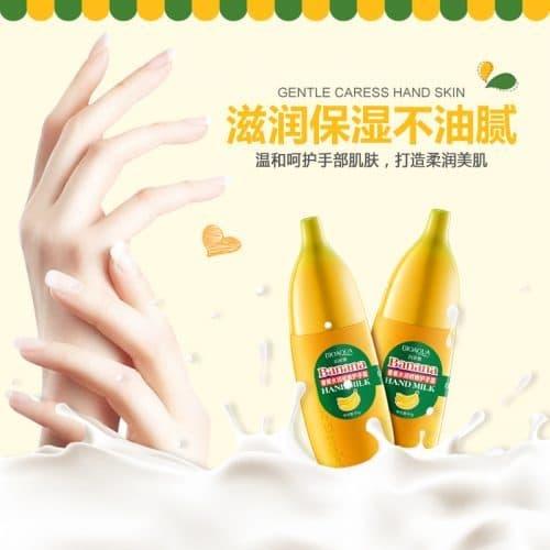 BIOAQUA увлажняющий крем для рук в виде и с запахом банана