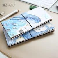 Блокнот-ежедневник-планировщик с китами