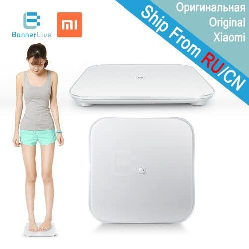 Bluetooth напольные весы Xiaomi Smart Scale