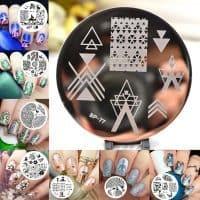 Born Pretty Диск для стемпинга дизайна ногтей