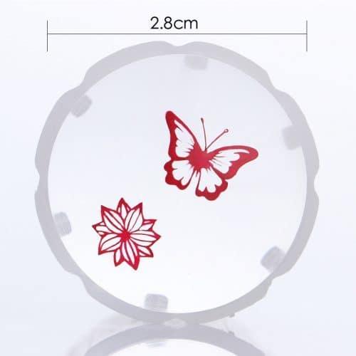 Born Pretty Прозрачный силиконовый штамп и скрапер для стемпинга ногтей