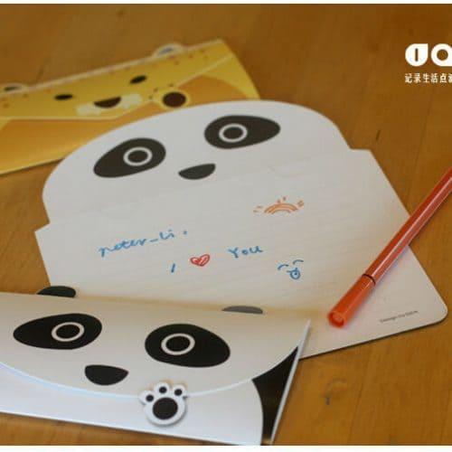 Бумажные DIY конверты в виде животных 20 шт.