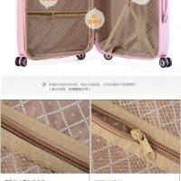 Чемодан 20/24″ на колесиках и сумка 14″ для путешествий в наборе