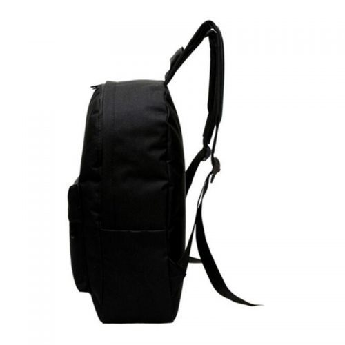 Черный тканевый рюкзак с Матильдой и Леоном