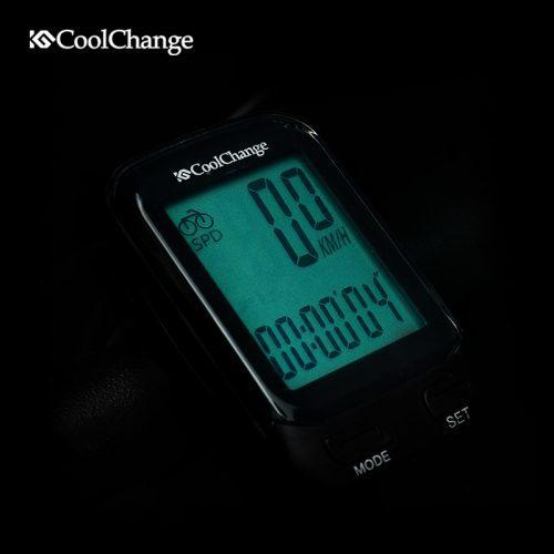 Coolchange водонепроницаемый проводной и беспроводной многофункциональный ЖК велокомпьютер-спидометр