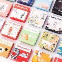 Декоративные канцелярские наклейки-стикеры 40 шт. в упаковке (15 разных дизайнов)