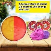 Детский умный пластилин, меняющий цвет