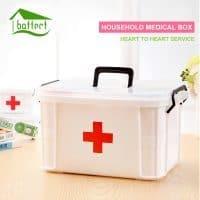 Домашняя аптечка-коробка (3 размера)