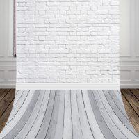 Фотофон тканевый для студии Белый кирпич