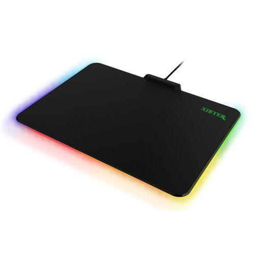 Игровой противоскользящий светящийся коврик для компьютерной мыши