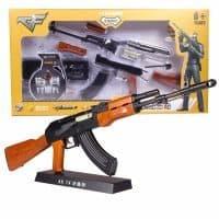 Игрушечная модель-конструктор автомата АК-47