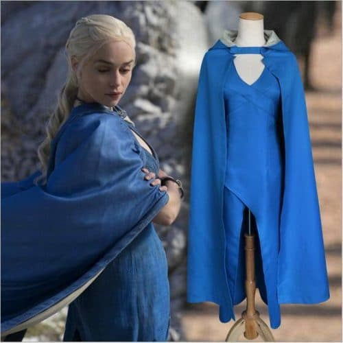 Косплей-костюм платье и плащ Дейенерис Таргариен (Daenerys Targaryen) из сериала Игра престолов