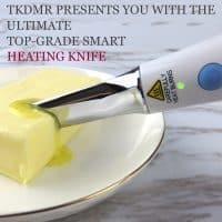 Кухонный электрический нож для масла с подогревом