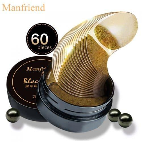 MANFRIEND black pearl корейские гидрогелевые патчи для кожи вокруг глаз