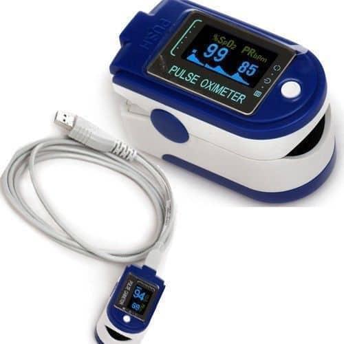 Медицинский пульсоксиметр на палец CONTEC CMS50D