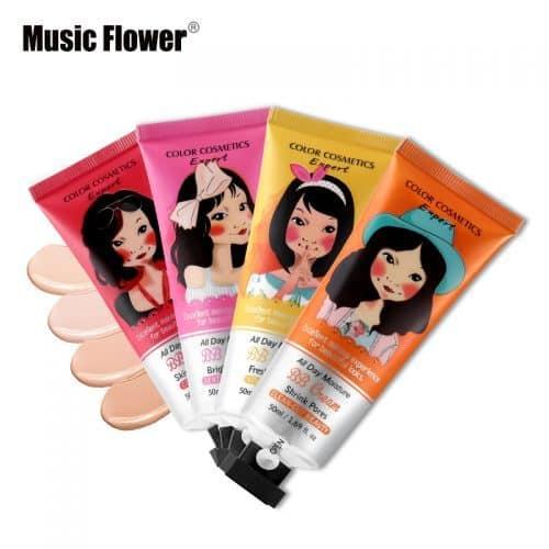 Music Flower корейский увлажняющий BB крем для лица