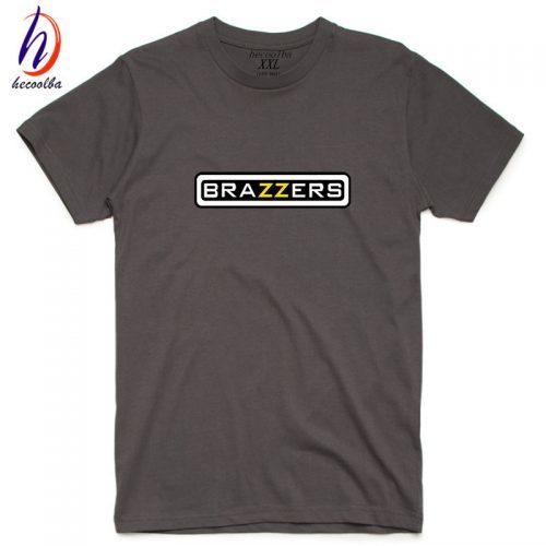 Мужская хлопковая футболка Brazzers