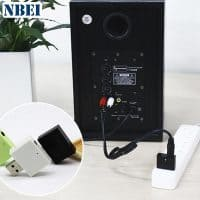 Nbei U01 Беспроводной bluetooth AUX стерео приемник-адаптер 3.5 мм