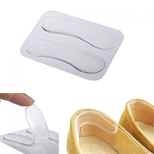 Невидимые гелевые силиконовые подушечки для задников обуви