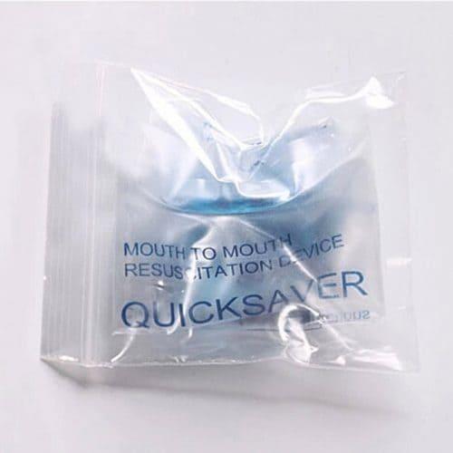 Одноразовая маска-респиратор для искусственного дыхания рот-в-рот