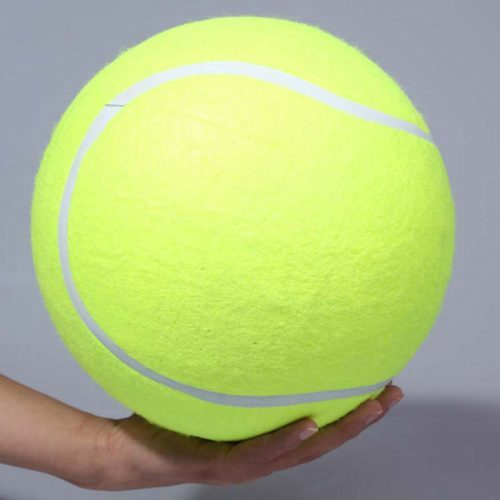 Огромный теннисный мяч игрушка для собак