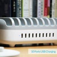 ORICO Док-станция держатель для зарядки 10 USB устройств