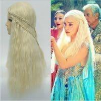 Парик Дейенерис Таргариен (Daenerys Targaryen) из сериала Игра престолов