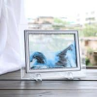 Песочная 3D картина-рамка